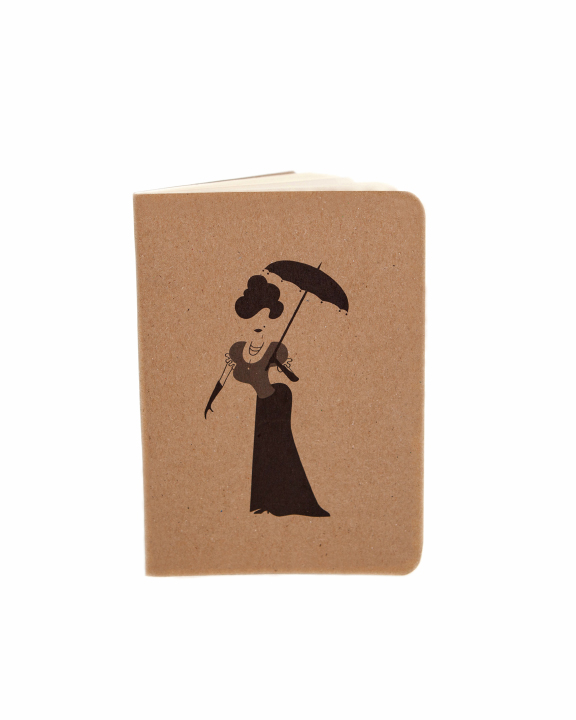 Edwardian Lady Notebook by At it Again!