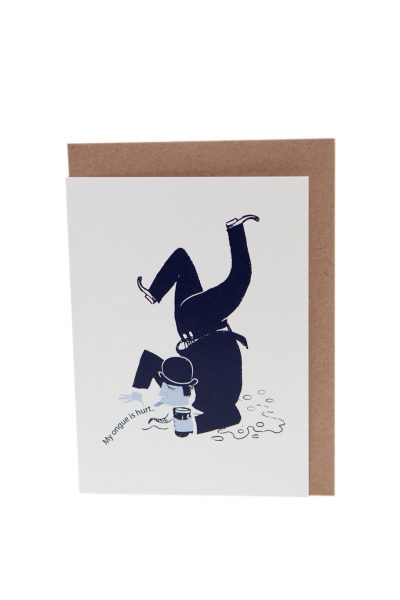 James Joyce Dubliners Greeting Card by At it Again! Literary Card made in Ireland.