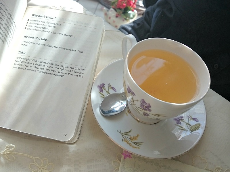 Romping through Dorian Gray with afternoon tea
