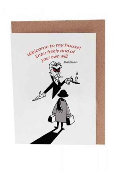 Castle Dracula Greeting Card Product Image