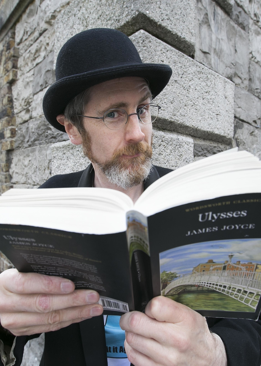 James from At it Again! reads Ulysses by James Joyce