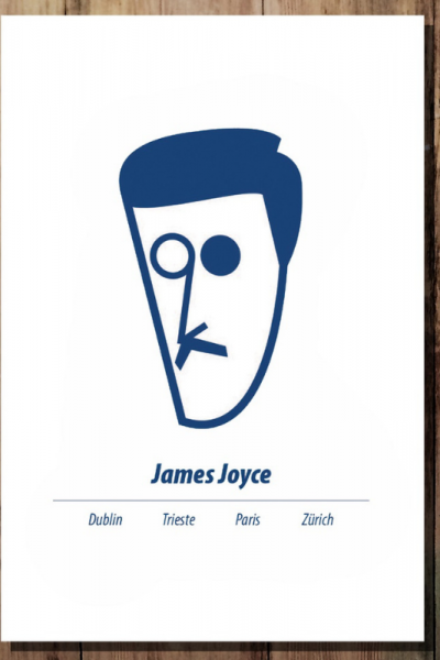 A3 James Joyce Print Product Image
