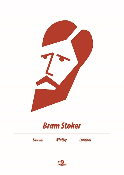 At it Again! Bram Stoker A3 print RRP 25