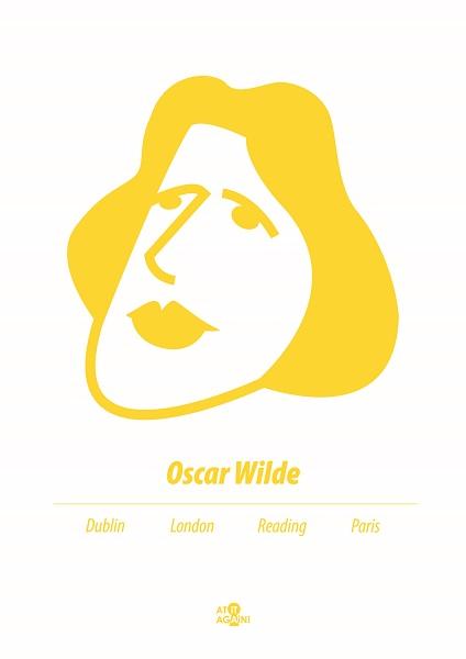 At it Again! Oscar Wilde A3 print RRP25