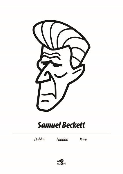 At it Again! Samuel Beckett A3 print RRP25