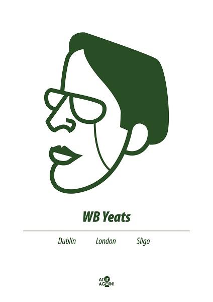 At it Again! WB Yeats A3 print RRP 25