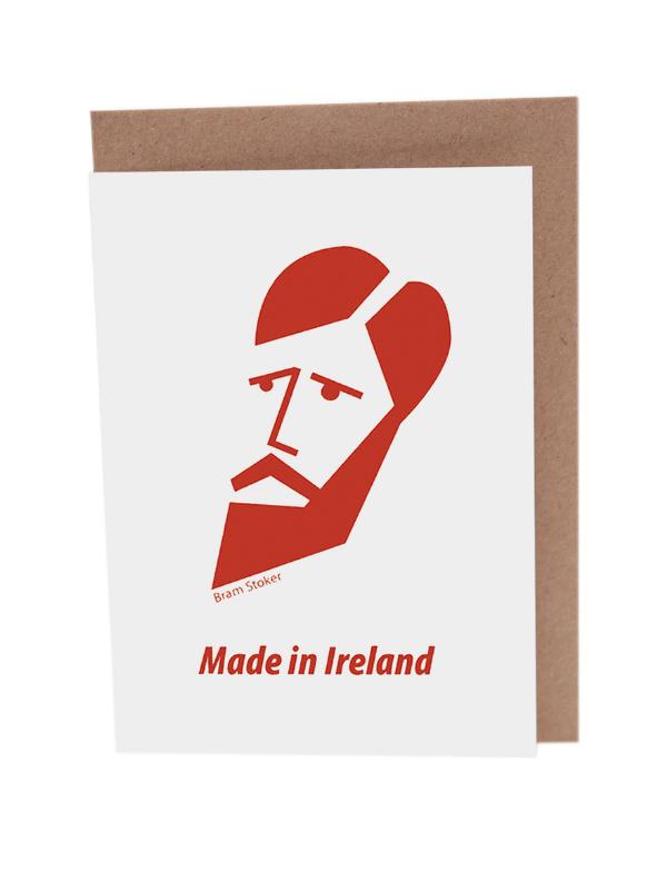Bram Stoker Greeting Card Product Image