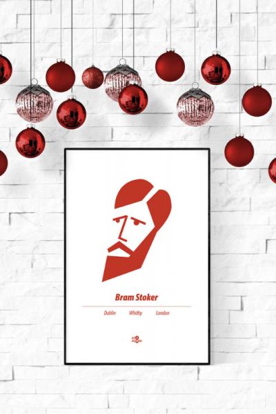 Bram Stoker Print Christmas Style Product Image