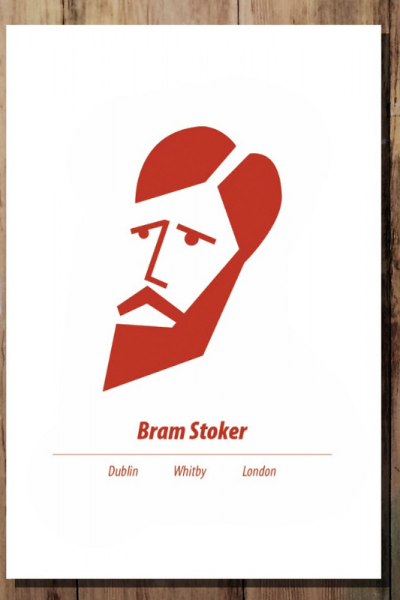 Bram Stoker Print Product Image