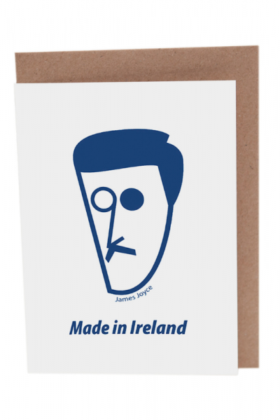 James Joyce Greeting Card Product Image