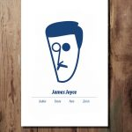 James Joyce Print