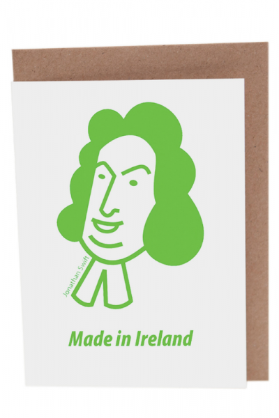 Jonathan Swift Greeting Card Product Image