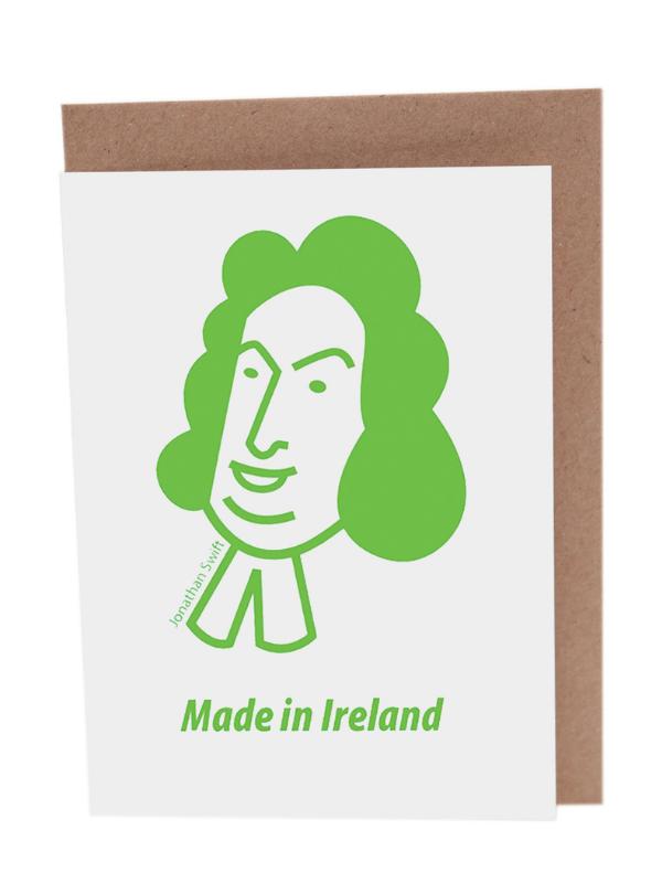 Jonathan Swift Greeting Card Product Image