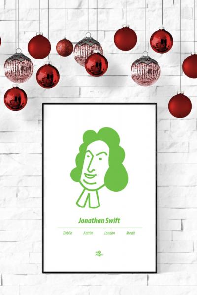Jonathan Swift Print Christmas Style Product Image