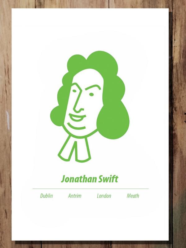 Jonathan Swift Print Product Image