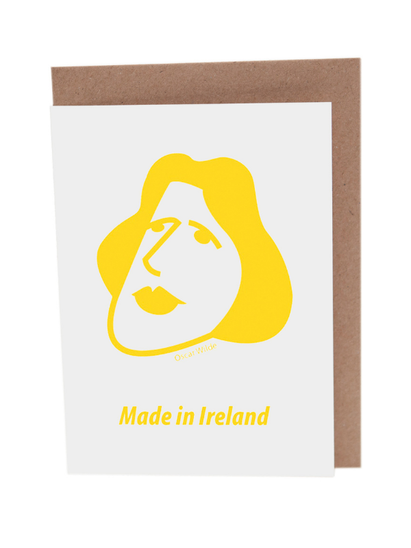 Oscar Wilde Greeting Card Product Image