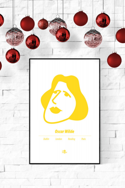Oscar Wilde Print Christmas Style Product Image