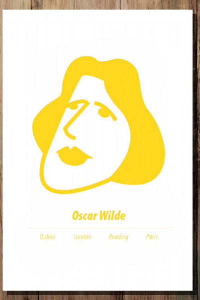 Oscar Wilde Print Product Image