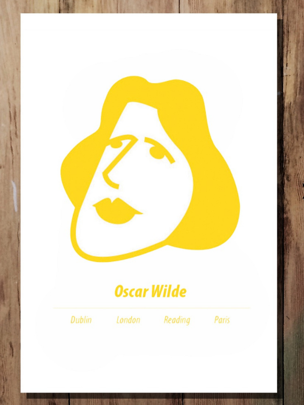 Oscar Wilde Print Product Image