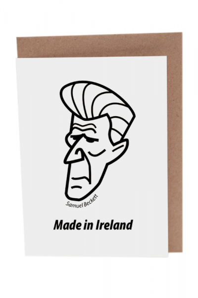 Samuel Beckett Greeting Card Product Image