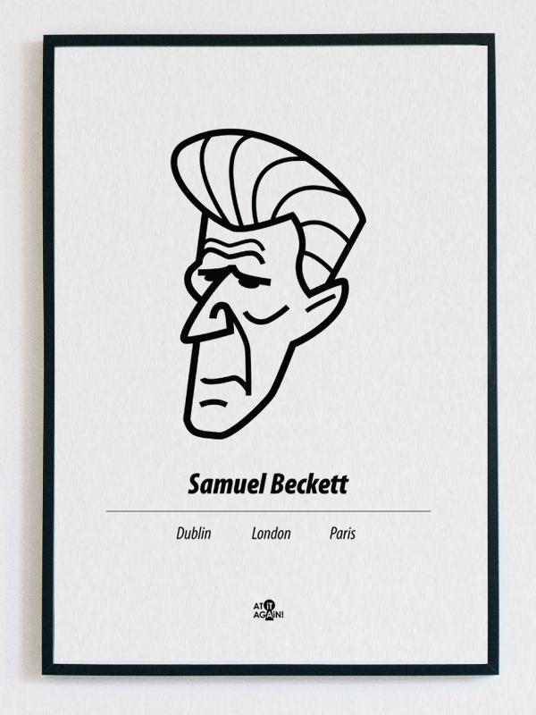 Samuel Beckett Print Product Image