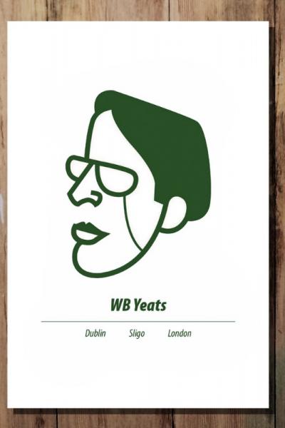 WB Yeats Print Product Image
