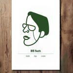 WB Yeats Print