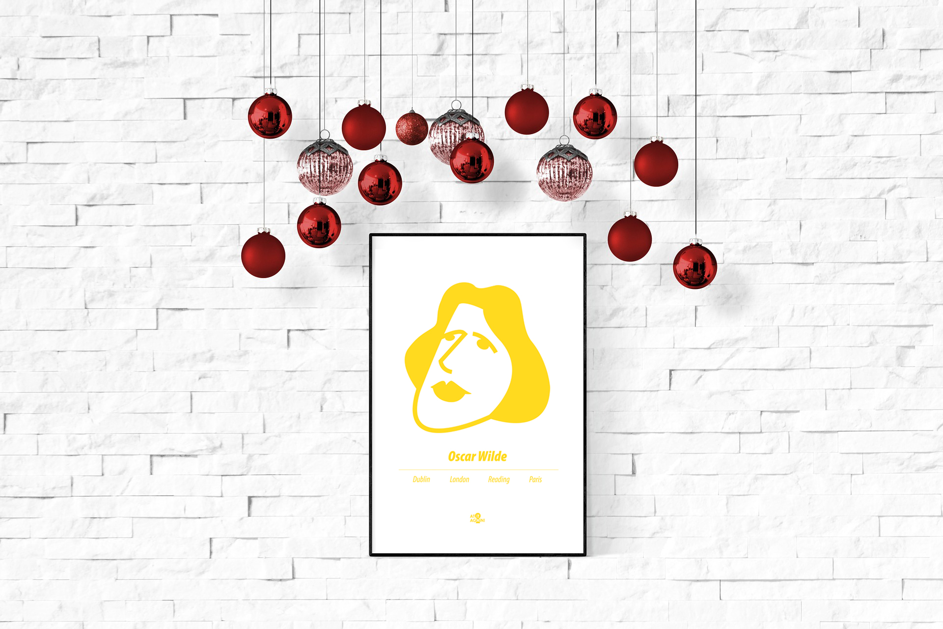 Oscar Wilde print by At it Again! Christmas Gift