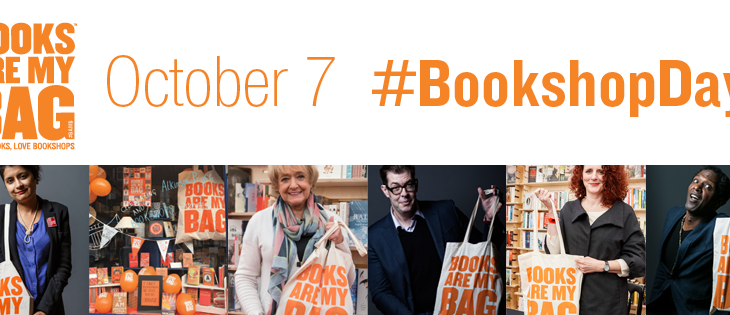 Books are my bag Bookshop Day October 7