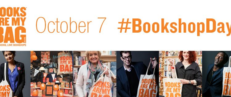At it Again! participate in Books Are My Bag Bookshop Day