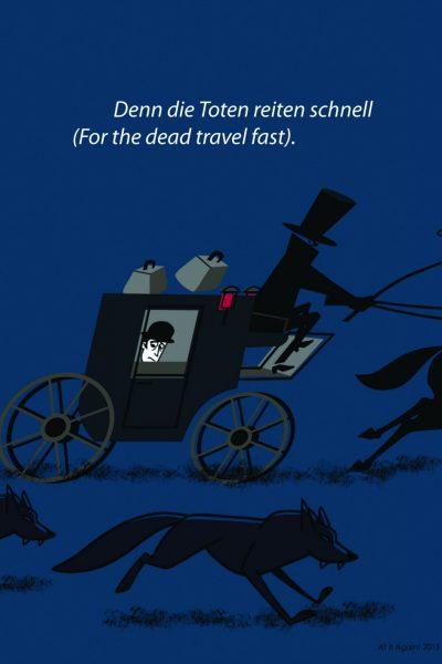 Bram Stoker Dracula print Trip by At it Again!