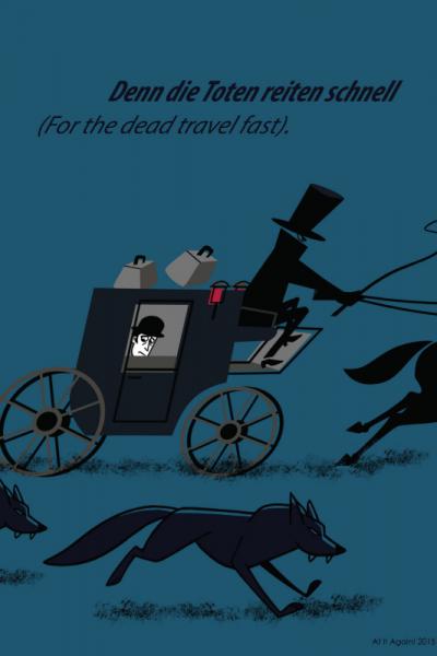 Dracula Trip Print Product Image