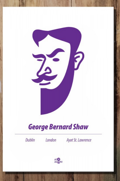 George Bernard Shaw Print Product Image
