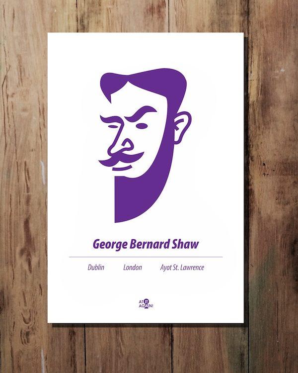 George Bernard Shaw Print
