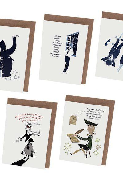 At it Again! Irish Literary Cards