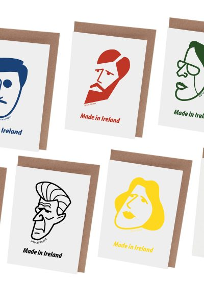 Irish Writers Card Set by At it Again! Literary cards made in Ireland