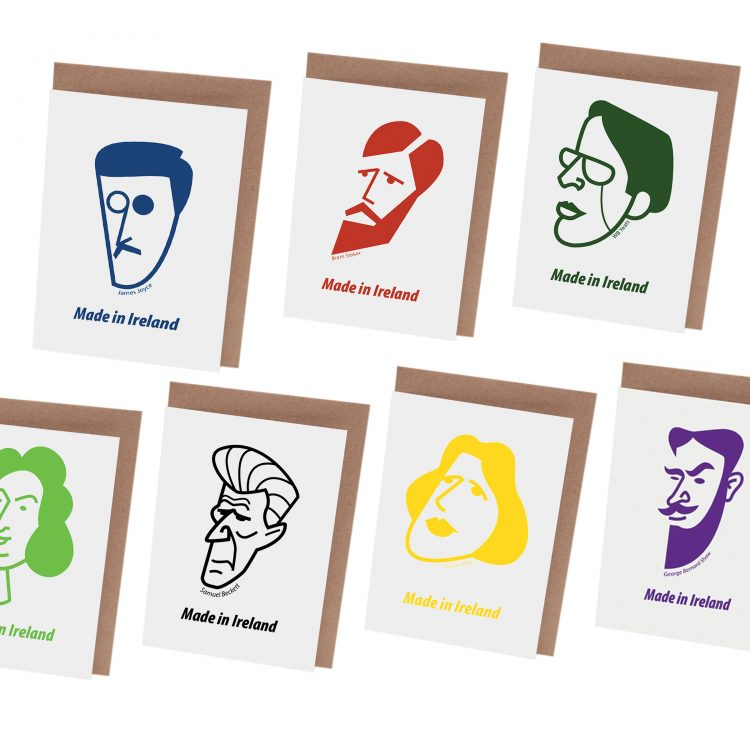 Irish Writers Card Set