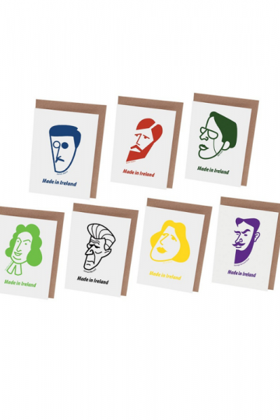 Irish Male Writers Card Set Product Image