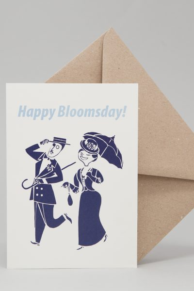 Bloomsday Greeting Card by At it Again!