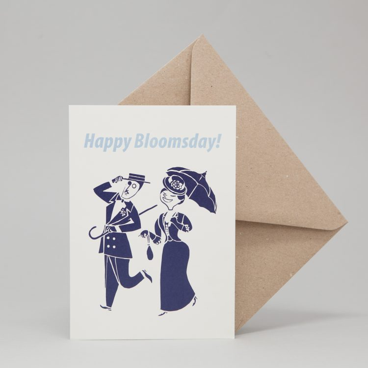 Bloomsday Greeting Card
