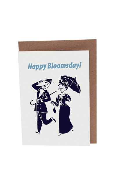 Bloomsday A6 Blank Card_Env by At it Again!