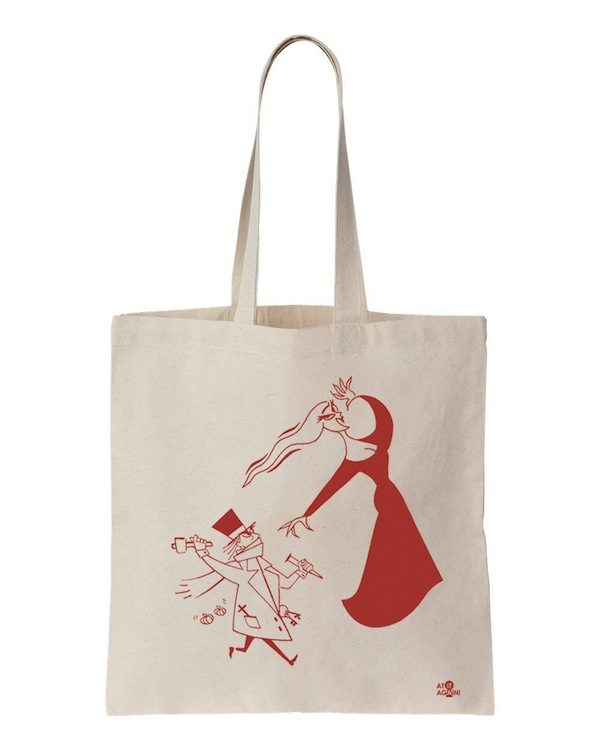 Dracula Tote Bag by At it Again!