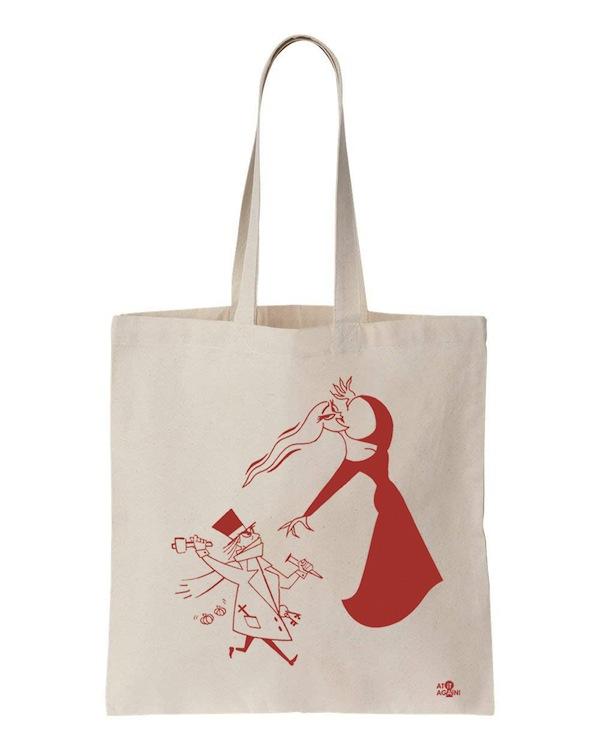 Dracula Tote Bag by At it Again!