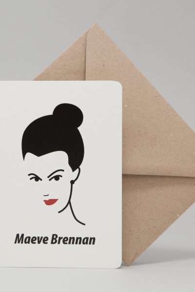 Maeve Brennan Greeting Card by At it Again!