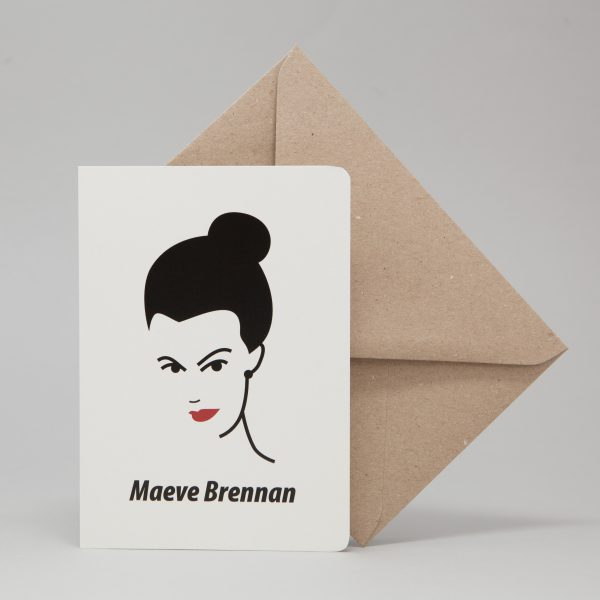 Maeve Brennan Greeting Card by At it Again!
