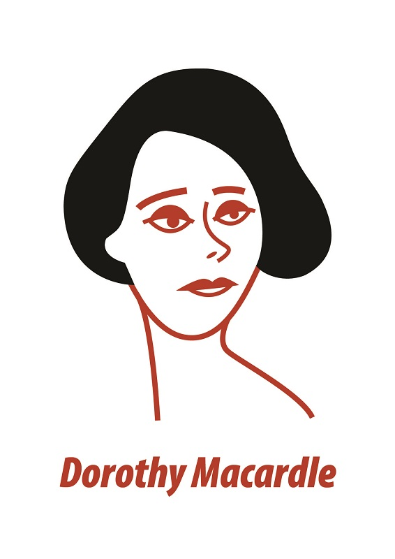 Dorothy Macardle Greeting Card by At it Again!