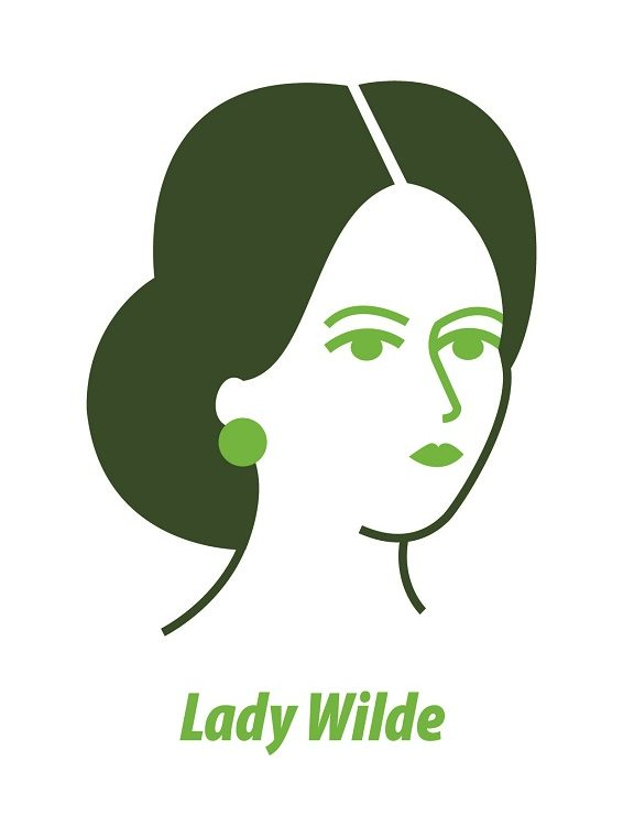 Lady Wilde Greeting Card