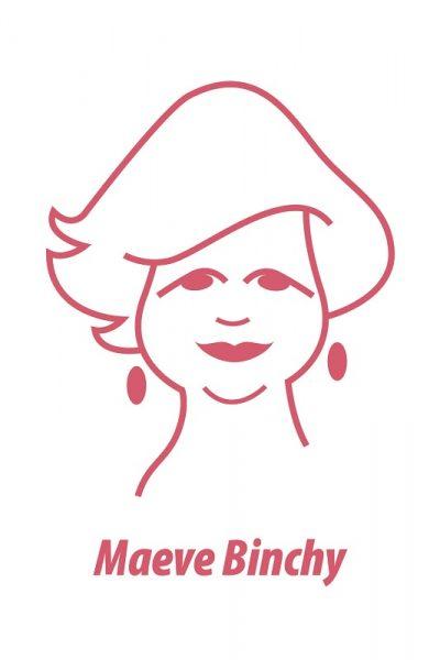 Maeve Binchy Greeting Card by At it Again!