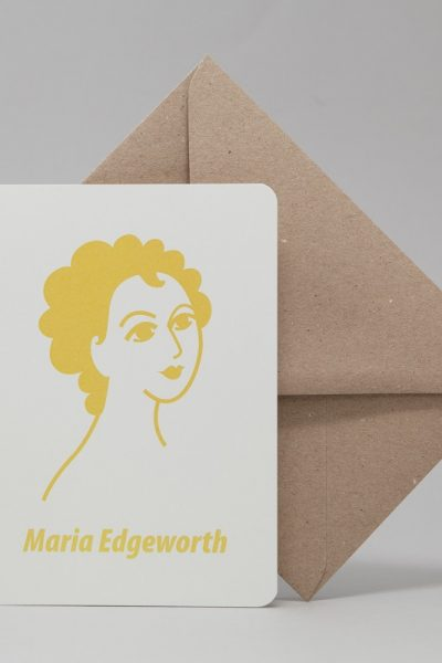 Maria Edgeworth Greeting Card by At it Again!