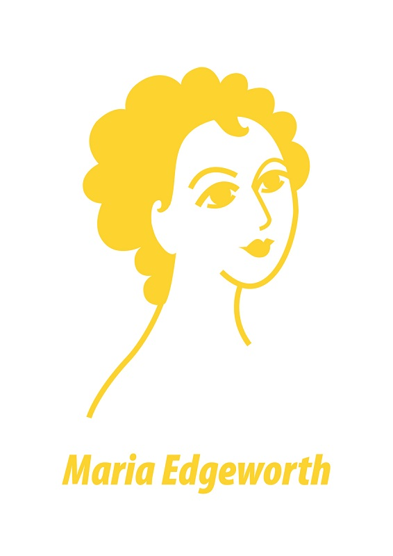 Maria Edgeworth Card by At it Again!